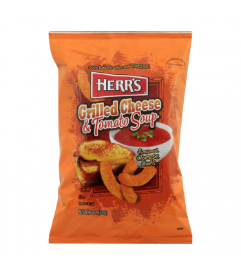 Herr's Grilled Cheese & Tomato Soup Curls - 6oz (170.1g) Snacks and Chips Herr's