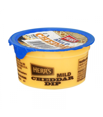Herr's Mild Cheddar Dip Cup - 3.7oz (105g) Snacks and Chips Herr's