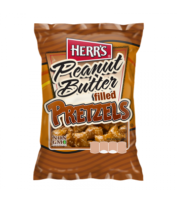 Herr's Peanut Butter Filled Pretzels - 2oz (57g) Snacks and Chips Herr's