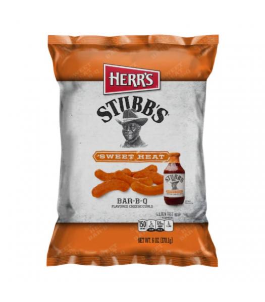 Clearance Special - Herr's Stubb's Sweet Heat Bar-B-Q Curls 6.5oz (170.1g) **Best Before: 06 November 21** Clearance Zone