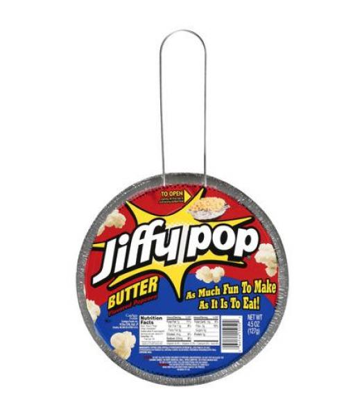 Jiffy Pop Butter Popcorn 4.5oz (127g)  Popcorn Jiffy