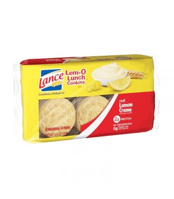 Lance Lem-O Lunch Cookies Lemon - 6.6oz (187g) Food and Groceries