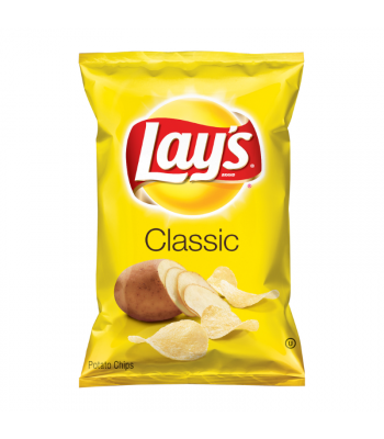Lay's Potato Chips Regular - 6.5oz (184.2g) Snacks and Chips Frito-Lay