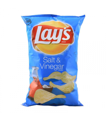 Lay's Potato Chips Salt & Vinegar - 6.5oz (184.2g) Snacks and Chips Frito-Lay