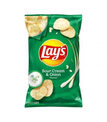 Lay's Potato Chips Sour Cream & Onion - 6.5oz (184.2g) Snacks and Chips Frito-Lay