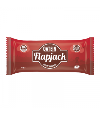 Oatein Cherry Bakewell Flapjack - 40g Food and Groceries