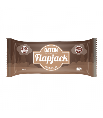 Oatein Chocolate Chip Flapjack - 40g Food and Groceries