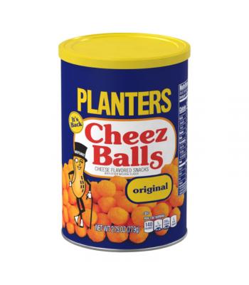 Planters Cheez Balls Original Flavour - 2.75oz (77.9g) Snacks and Chips
