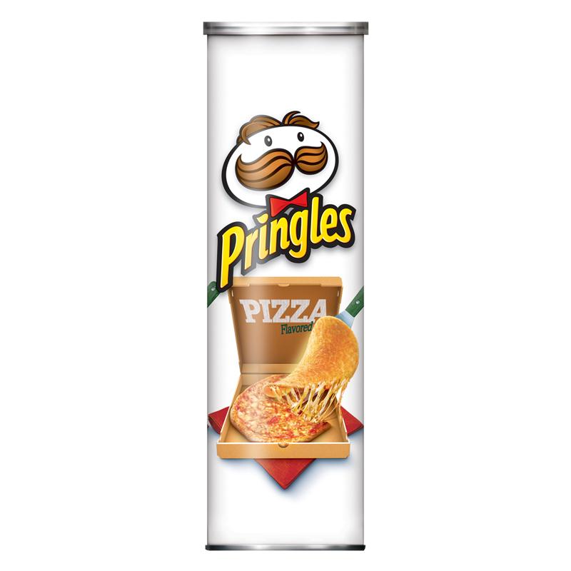 snacks and chips crisps pringles pizza