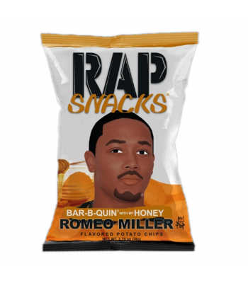 Rap Snacks Honey BBQ - 2.75oz (78g) Snacks and Chips