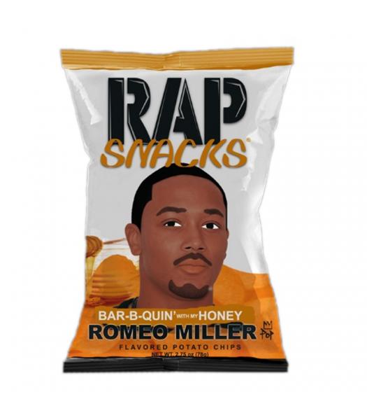 Rap Snacks Honey BBQ - 2.75oz (78g) Snacks and Chips