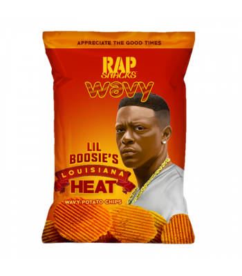 Clearance Special - Rap Snacks Louisiana Heat - 2.75oz (78g) **Best Before: 20 March 21** Clearance Zone