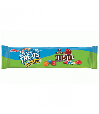 Rice Krispies Treats Blasted with M&M's Minis Giant Cereal Bar 2.1oz