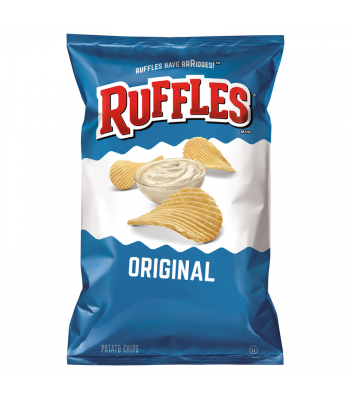 Ruffles Potato Chips Original 6.5oz (184.2g) Crisps & Chips Ruffles