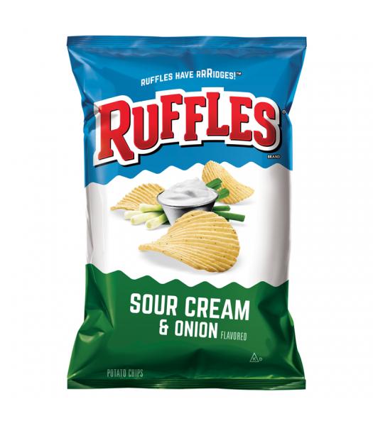 Ruffles Potato Chips Sour Cream & Onion 6.5oz (184.2g) Snacks and Chips Ruffles