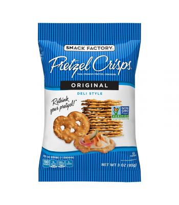 Snack Factory Pretzel Crisps Original 3oz (85g) Food and Groceries