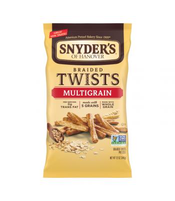 Snyder's Multigrain Braided Twist Pretzels - 12oz (340.2g) Snacks and Chips Snyder's