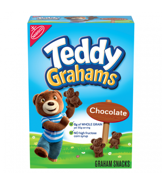 Teddy Grahams Chocolate Cereal Snack 10oz (283g) Cookies and Cakes Teddy Grahams