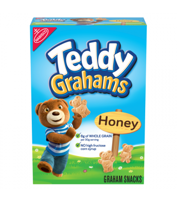 Teddy Grahams Honey Cereal Snack 10oz (283g)  Cookies and Cakes Teddy Grahams