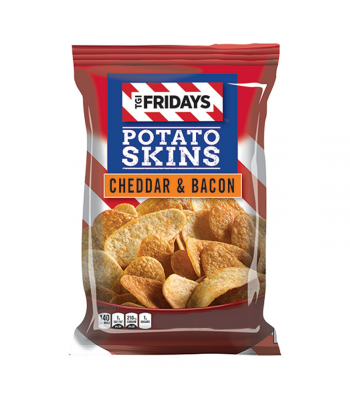 TGI Fridays Cheddar & Bacon Potato Skins - 4oz (113g) Snacks and Chips TGI Fridays