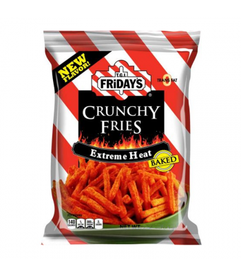TGI Fridays Extreme Heat Crunchy Fries - 4.5oz (127.8g) Snacks and Chips TGI Fridays