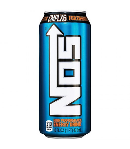 NOS High Performance Energy Drink 16oz (473ml) Soda and Drinks