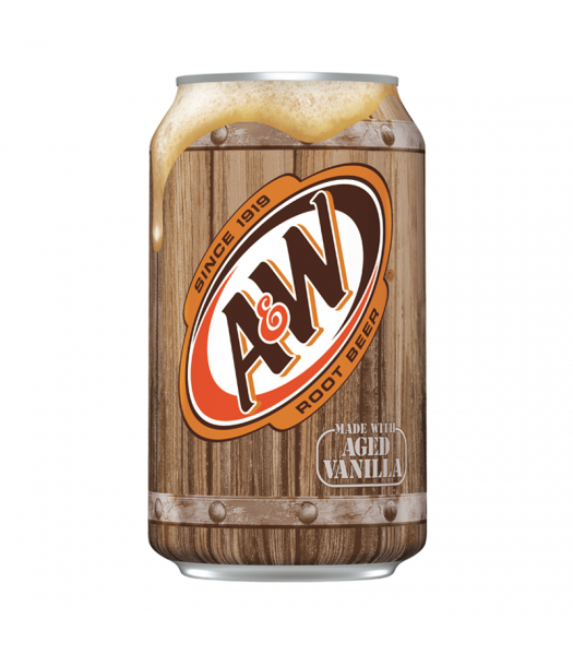 A&W Root Beer - 12fl.oz (355ml) Soda and Drinks A&W