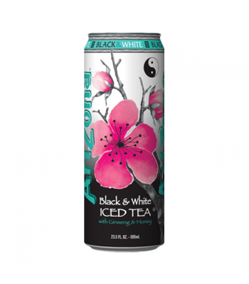 AriZona Black & White Tea 23oz (680ml)  Iced Tea AriZona
