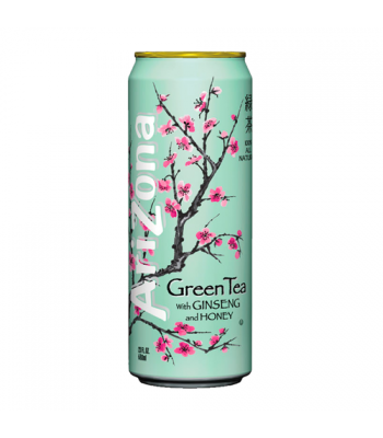 Arizona Green Tea with Ginseng and Honey 23oz (680ml) Iced Tea AriZona