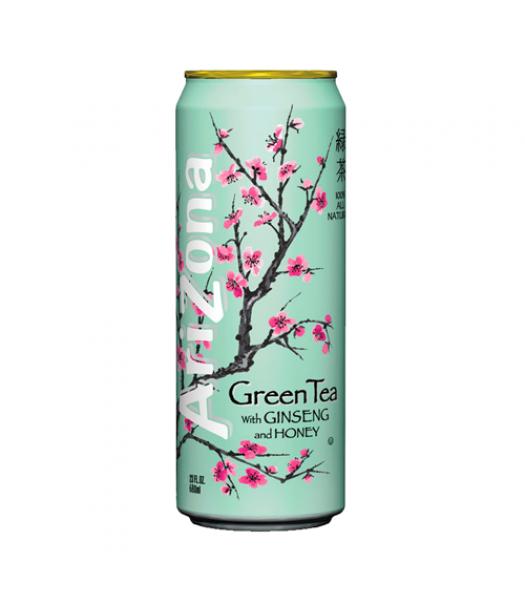 Arizona Green Tea with Ginseng and Honey 23oz (680ml) Iced Tea AriZona