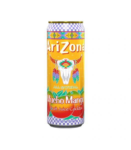 Arizona - Mucho Mango SLIM CAN 11.5oz (340ml)  Soda and Drinks Arizona
