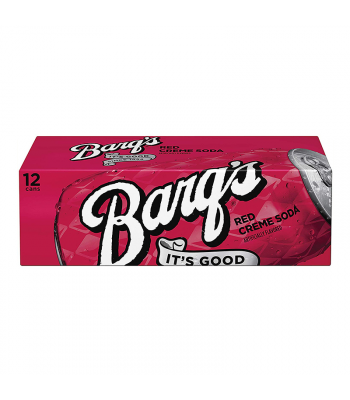 Barq's Red Crème Soda - 12-Pack (12 x 12fl.oz (355ml))