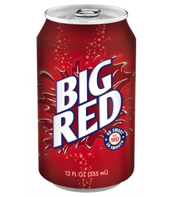 Big Red Soda 355ml Regular Soda Big Red Soda