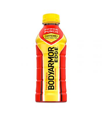 BODYARMOR EDGE Caffeinated Sports Drink Power Punch - 20.2oz (473ml) Soda and Drinks