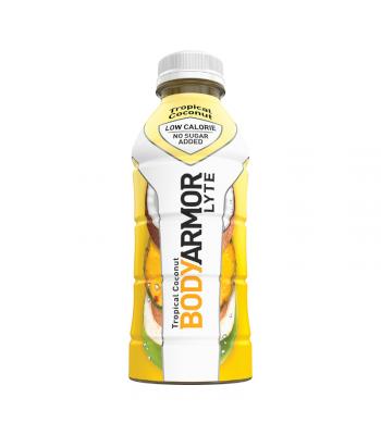 BODYARMOR LYTE Sports Drink Tropical Coconut - 16oz (473ml) Soda and Drinks