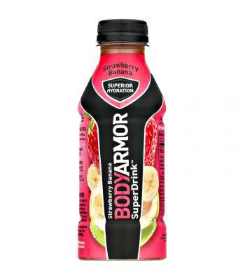 BodyArmor SuperDrink - Strawberry Banana - 16fl.oz (473ml)