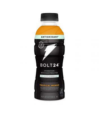 BOLT24 Sports Drink Tropical Mango - 16.9oz (500ml) Soda and Drinks