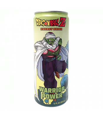 Dragon Ball Z Piccolo Warrior Power Energy Drink - 12fl.oz (355ml) Soda and Drinks Boston America