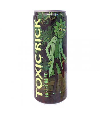 Rick & Morty Toxic Rick Energy Drink - 12fl.oz (355ml) Soda and Drinks Boston America