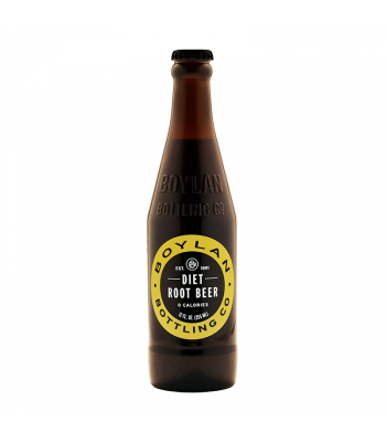 Boylan Diet Root Beer - 12fl.oz (355ml)  Soda and Drinks