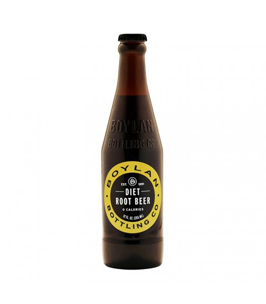 Boylan Diet Root Beer - 12fl.oz (355ml)  Soda and Drinks