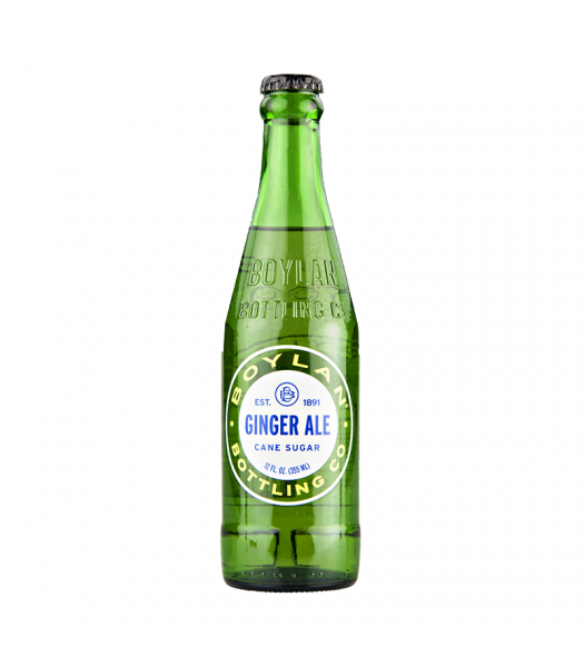 Boylan Ginger Ale - 12fl.oz (355ml) Soda and Drinks Boylan