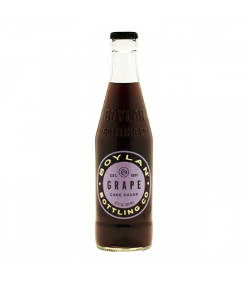 Boylan Grape Soda - 12fl.oz (355ml) Soda and Drinks Boylan