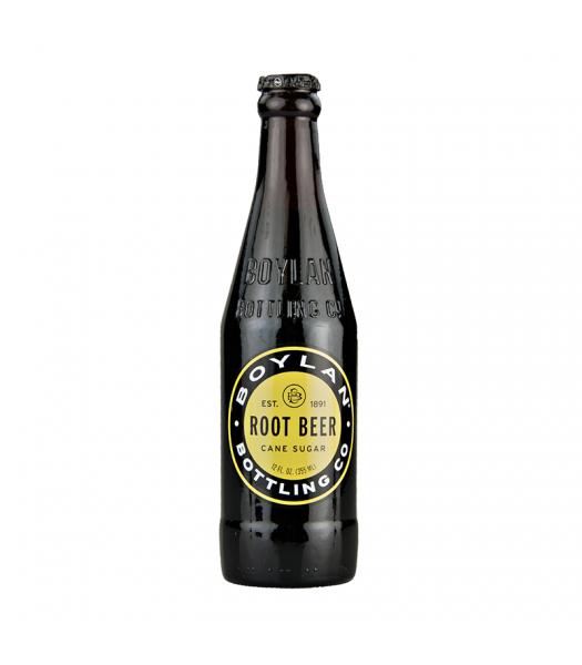 Boylan's All Natural Cane Sugar Root Beer - 12fl.oz (355ml) Soda and Drinks Boylan