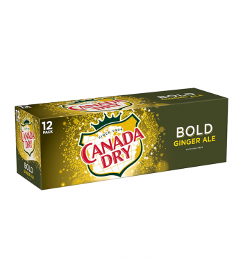 Canada Dry Bold Ginger Ale - 12oz (355ml) Soda and Drinks Canada Dry