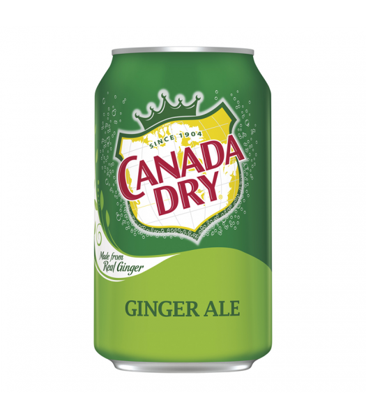 Canada Dry Ginger Ale 12fl.oz (355ml) Soda and Drinks Canada Dry