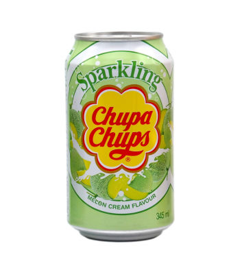 Chupa Chups Melon Cream Soda 345ml (Korea) Soda and Drinks