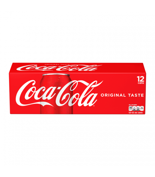 Coca Cola Classic (U.S. Origin) 12-Pack Cans Regular Soda Coca Cola