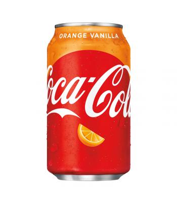 Coca Cola Orange Vanilla - 12fl.oz (355ml) Soda and Drinks Coca Cola