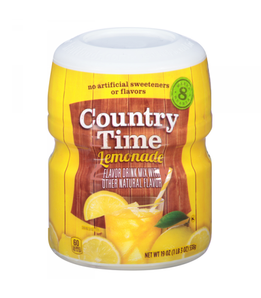 Country Time Lemonade 19oz (538g) Drink Mixes Country Time